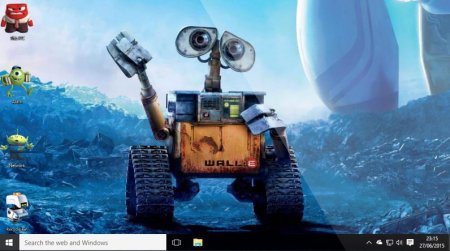 Тема Pixar для Windows 10 / 8 / 7