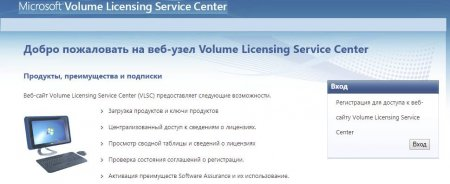 Volume License Microsoft